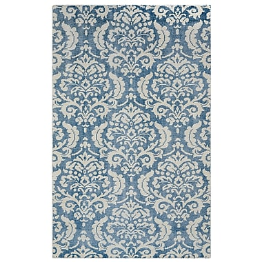 Rizzy Home Maison Collection Hand-Spun New Zealand Wool 3' x 5' Blue (MSNMS867609040305)