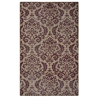 Rizzy Home Maison Collection Hand-Spun New Zealand Wool 8'x10' Burgundy (MSNMS867812140810)