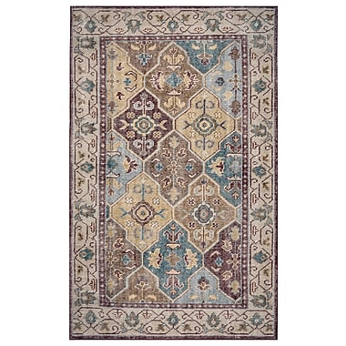 Rizzy Home Maison Collection Hand-Spun New Zealand Wool 8'x10' Multi-Colored (MSNMS868000540810)
