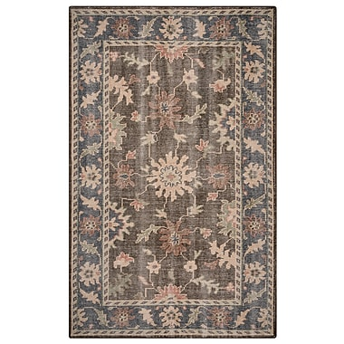 Rizzy Home Maison Collection Hand-Spun New Zealand Wool 2' x 3' Multi-Colored (MSNMS868412090203)