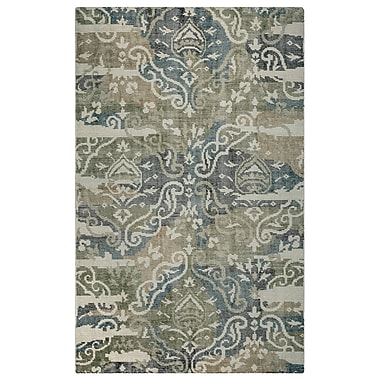 Rizzy Home Maison Collection Hand-Spun New Zealand Wool 8'x10' Multi-Colored (MSNMS891830590810)
