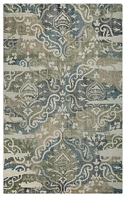 Rizzy Home Maison Collection Hand-Spun New Zealand Wool 5'x8' Multi-Colored (MSNMS891830590508)