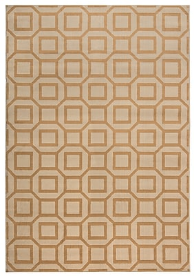 Rizzy Home Millington Collection 100% Polypropylene 5'3