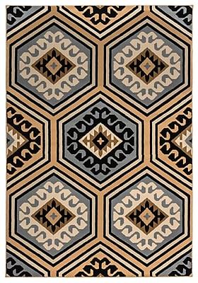 Rizzy Home Millington Collection 100% Polypropylene 5'3