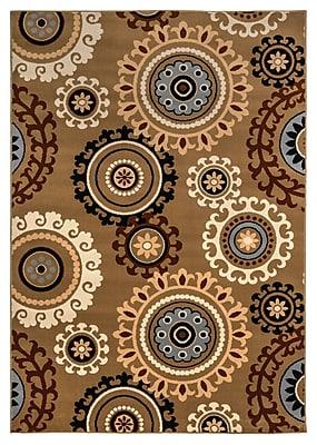Rizzy Home Millington Collection 100% Polypropylene 6'7
