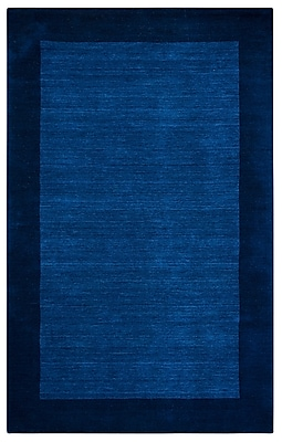Rizzy Home Platoon Collection New Zealand Wool Blend 5'x8' Blue (PLAPL2436ID000508)