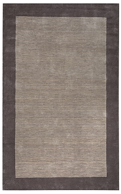 Rizzy Home Platoon Collection New Zealand Wool Blend 5'x8' Tan (PLAPL284700440508)