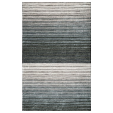 Rizzy Home Platoon Collection 100% Wool 2' x 3' Gray (PLAPL931300330203)