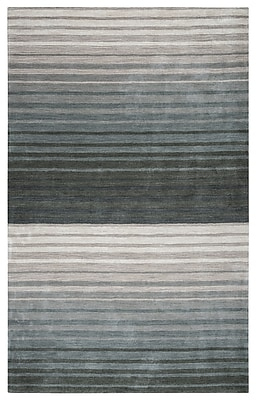 Rizzy Home Platoon Collection 100% Wool 8'x10' Gray (PLAPL931300330810)