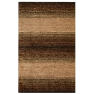 Rizzy Home Platoon Collection 100% Wool 3' x 5' Brown (PLAPL934600120305)