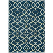 "Rizzy Home Sorrento Collection 100% Heat-Set Polypropylene 3'3"" x 5'3"" Navy (SRTSO428400093353)"