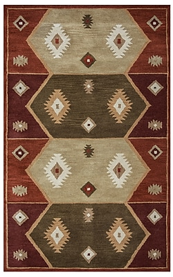 Rizzy Home Southwest Collection 100% Wool 3' x 5' Multi-Colored (SOWSU193700340305)