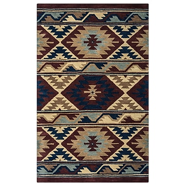 Rizzy Home Southwest Collection 100% Wool 5'x8' Multi-Colored (SOWSU225300700508)