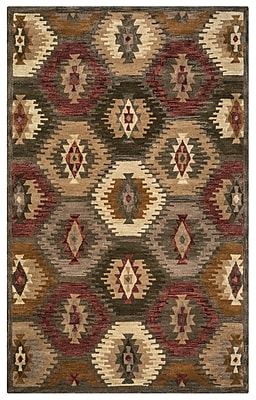 Rizzy Home Southwest Collection 100% Wool 2' x 3' Multi-Colored (SOWSU815200120203)