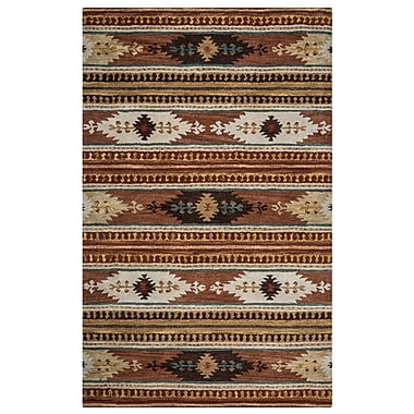 Rizzy Home Southwest Collection 100% Wool 9'x12' Multi-Colored (SOWSU815600750912)