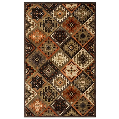 Rizzy Home Southwest Collection 100% Wool 5'x8' Multi-Colored (SOWSU876100120508)