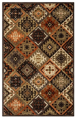 Rizzy Home Southwest Collection 100% Wool 9'x12' Multi-Colored (SOWSU876100120912)