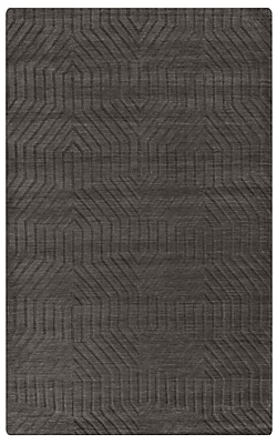 Rizzy Home Technique Collection 100% Wool 9'x12' Dark Taupe (TECTC857900120912)