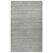 Rizzy Home Technique Collection 100% Wool 9'x12' Light Gray (TECTC858100040912)
