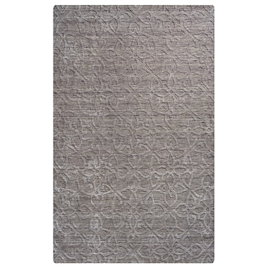 Rizzy Home Uptown Collection New Zealand Wool Blend 9'x12' Gray (UPTUP288400460912)