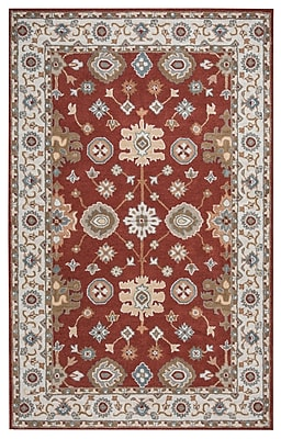 Rizzy Home Valintino Collection 100% Wool 9'x12' Rust (VNTVN944775370912)