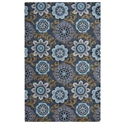 Rizzy Home Valintino  Collection 100% Wool 8'x10' Multi-Colored (VNTVN9458DR000810)