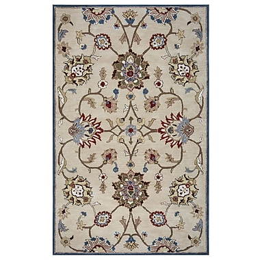 Rizzy Home Valintino Collection 100% Wool 8'x10' Beige (VNTVN966700040810)