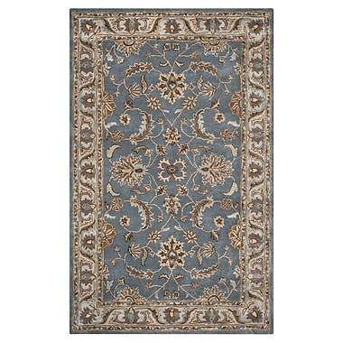 Rizzy Home Volare Collection 100% Wool 5'x8' Blue (VOLVO142746040508)