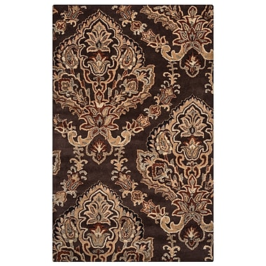 Rizzy Home Volare Collection 100% Wool 8'x10' Brown (VOLVO168018180810)