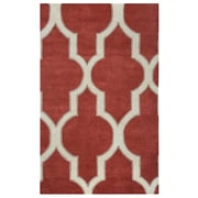 Rizzy Home Volare Collection 100% Wool 9'x12' Red (VOLVO213400750912)