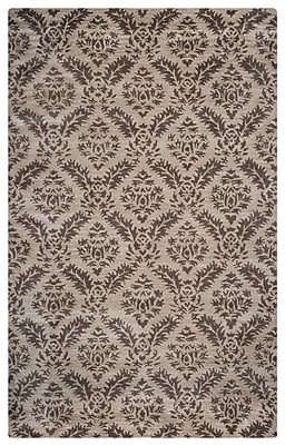 Rizzy Home Volare Collection 100% Wool 5'x8' Natural (VOLVO237100330508)