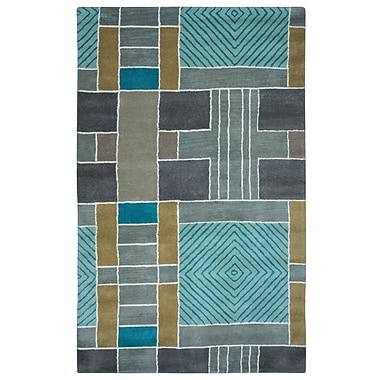 Rizzy Home Volare Collection 100% Wool 9'x12' Multi-Colored (VOLVO265400430912)