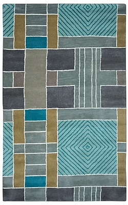 Rizzy Home Volare Collection 100% Wool 2' x 3' Multi-Colored (VOLVO265400430203)