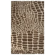 Rizzy Home Volare Collection 100% Wool 8'x10' Brown (VOLVO817700120810)