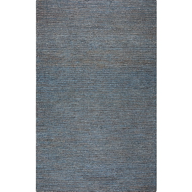 Rizzy Home Whittier Collection Jute 5'x8' Blue (WHIWR961600330508)
