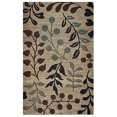 Rizzy Home Whittier Collection Jute 5'x8' Natural (WHIWR962600550508)