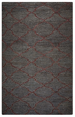 Rizzy Home Whittier Collection Jute 9'x12' Dark Taupe (WHIWR962800120912)