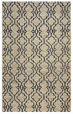 Rizzy Home Whittier Collection Jute 8'x10' Natural (WHIWR963100550810)