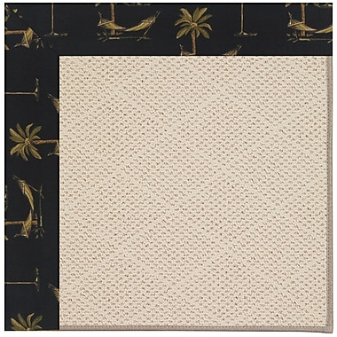 Capel Zoe Light Beige Indoor/Outdoor Area Rug; Rectangle 4' x 6'