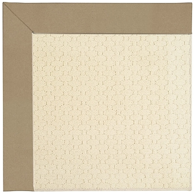 Capel Zoe Beige Indoor/Outdoor Area Rug; Square 10'