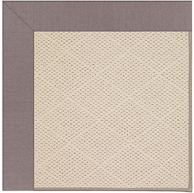 Capel Zoe Light Beige Indoor/Outdoor Area Rug; Square 6'