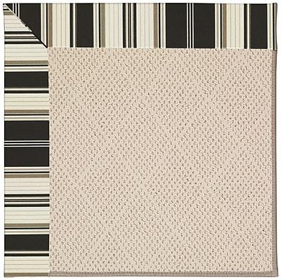 Capel Zoe Beige Indoor/Outdoor Area Rug; Rectangle 4' x 6'