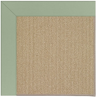 Capel Zoe Light Brown Indoor/Outdoor Area Rug; Rectangle 4' x 6'