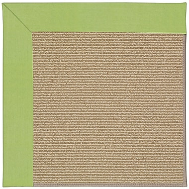 Capel Zoe Light Brown Indoor/Outdoor Area Rug; Square 6'