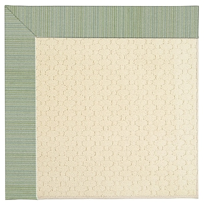 Capel Zoe Light Beige Spa Indoor/Outdoor Area Rug; Rectangle 12' x 15'