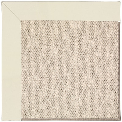 Capel Zoe Light Brown Indoor/Outdoor Area Rug; Square 12'