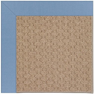 Capel Zoe Grassy Mountain Machine Tufted Blue/Brown Indoor/Outdoor Area Rug; Rectangle 5' x 8'