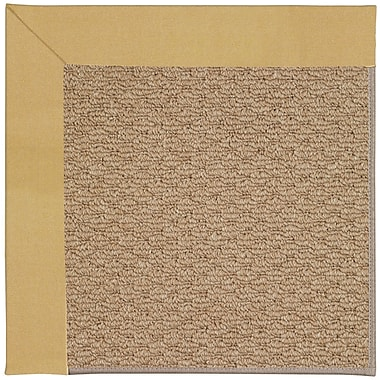 Capel Zoe Machine Tufted Wheatfield/Brown Indoor/Outdoor Area Rug; Rectangle 7' x 9'