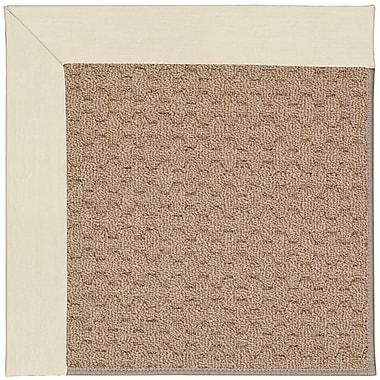 Capel Zoe Machine Tufted Sandy/Brown Indoor/Outdoor Area Rug; Rectangle 5' x 8'