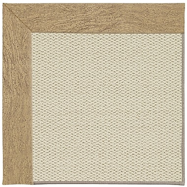 Capel Inspirit Linen Machine Tufted Beige Area Rug; Rectangle 9' x 12'